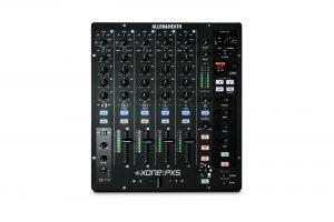 מיקסר די גיי 4+1 עם כרטיס קול ואפקט Allen & Heath Xone PX5 DJ