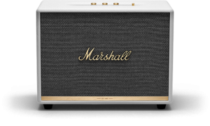 רמקול Bluetooth ביתי בצבע לבן מבית Marshall