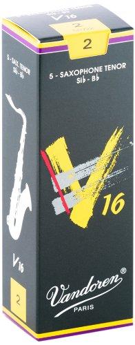 עלים לסקסופון טנור V16 מספר 2 – 5 בקופסא Vandoren SR722