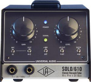 קדם מגבר (פרה-אמפ) מנורות Universal Audio SOLO/610
