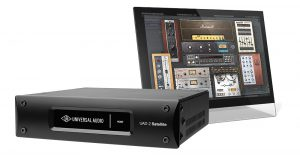 כרטיס מעבד אפקטים Universal Audio UAD-2 QUAD Satellite USB