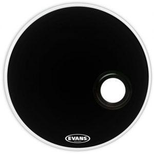 עור 22 שחור קידמי עם חור EVANS EMAD RESO BLK