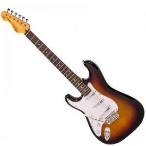 גיטרה חשמלית שמאלית VINTAGE LV6SSB