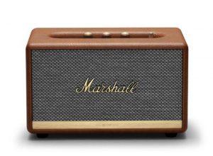 רמקול Bluetooth בצבע חום מבית Marshall