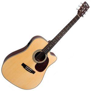 גיטרה אקוסטית מוגברת CORT MR500E OP CUTWAY