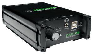 DI אקטיבי סטריאו חיבור למחשב Mackie MDB USB