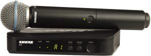 מיקרופון אלחוטי ידני Shure BLX24E/B58A