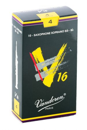 עלים לסקסופון סופרן V16 מספר 4 – 10 בקופסא Vandoren SR714