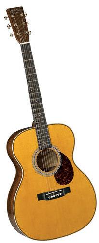 גיטרה אקוסטית מוגברת + ארגז MARTIN OMJM John Mayer