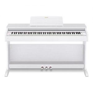 פסנתר חשמלי Casio AP-270 בצבע לבן