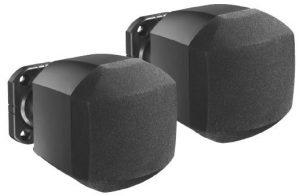 זוג רמקולים 2.75 אינצ צבע שחור כולל מתקן תליה JADE SS316B