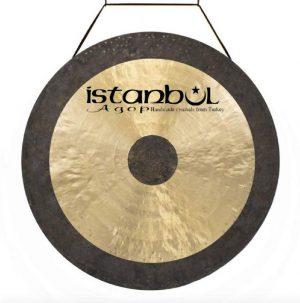גונג סימפוני 12 אינצ עם סטנד סאונד גבוהה ומתמשך Istanbul Agop Brilliant Symphonic