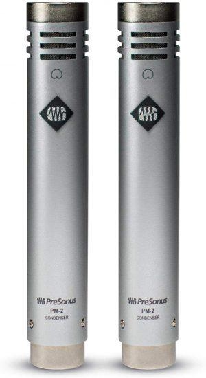 זוג מיקרופונים קונדנסר תואם PreSonus PM-2