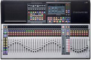 מיקסר דיגיטלי 32 ערוצים בעל ממשק USB ופיידרים ממונעים PreSonus StudioLive 32S