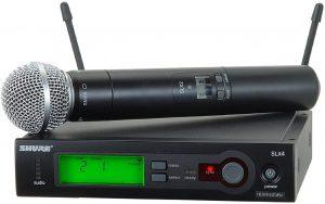 מיקרופון אלחוטי ידני Shure SLX24E/SM58