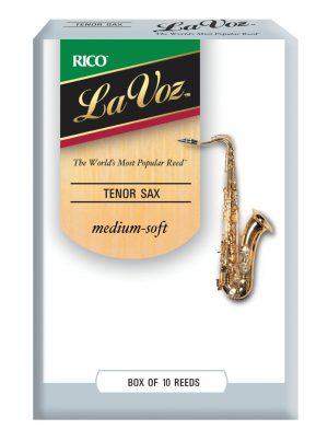 עלים לסקסופון טנור – 10 בקופסא La Voz MS