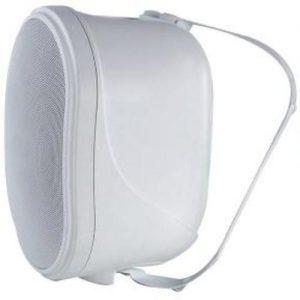 רמקול פאסיבי מוגן מיים 8 אינצ + 1 אינצ צבע לבן כולל מתקן תלייה AST H8WP