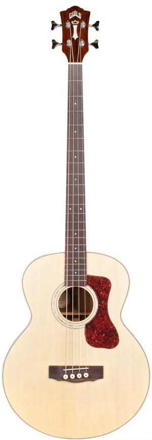 גיטרה בס אקוסטית מוגברת Guild B140E