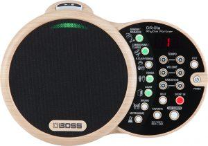 מכונת תופים ומקצבים דיגיטלית לנגינה עם כלים אקוסטיים BOSS DR-01S