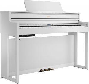 פסנתר חשמלי בצבע לבן Roland HP704