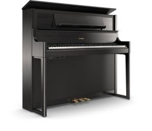 פסנתר חשמלי בצבע שחור Roland LX708 Charcoal Black