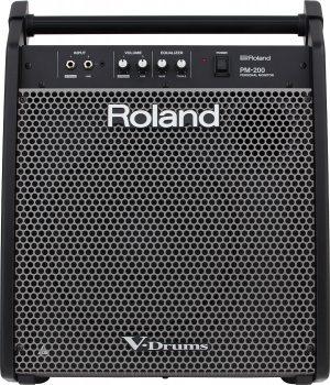 רמקול מוגבר למערכת תופים אלקטרונית Roland PM-200