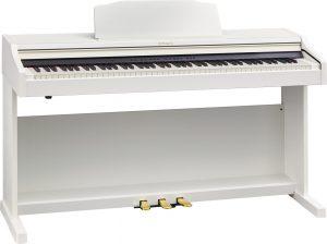 פסנתר חשמלי בצבע לבן Roland RP-501R