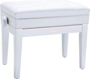 כיסא פסנתר Roland PRB-400WH בצבע לבן מאט