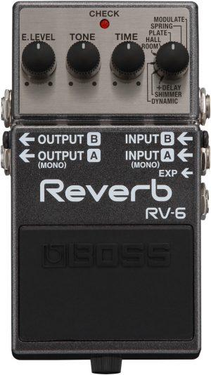 פדל Boss RV6 Digital Reverb