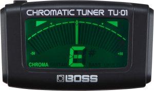 מכוון טיונר כרומטי לגיטרה בוס Boss TU01