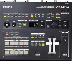 וידאו מיקסר דיגיטלי Roland AV Mixer V40HD