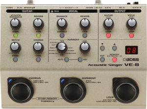 אפקט לשירה Boss Vocal Processor VE8