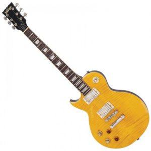 גיטרה חשמלית שמאלית  Vintage LV100 Icon