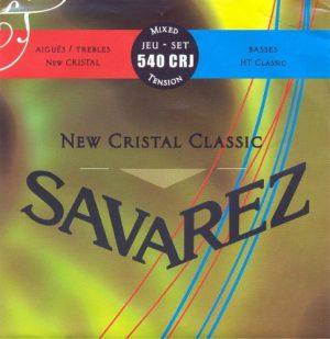 סט מיתרים לקלאסית SAVAREZ CRISTAL STD/HT 540CRJ