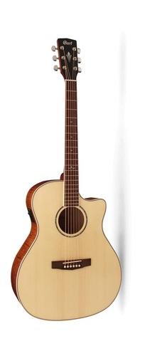 גיטרה אקוסטית מוגברת שמאלית CORT GA-FF NAT CUT WAY FISHMAN