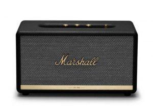 רמקול Bluetooth בצבע שחור מבית Marshall