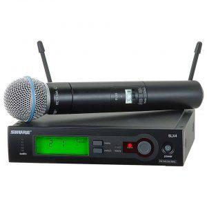 מיקרופון אלחוטי ידני Shure SLX24E/B58A