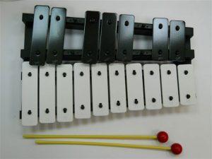 גלוקנשפיל כרומטי 17 צלילים גדולים כולל פטישונים
