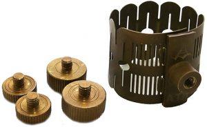 ליגטורה לסקסופון אלט או טנור עם 4 אפשרויות לכיוון צליל Aizen LIG4