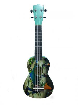 יוקללה סופרן עם גרפיקה גמדים Aloha UK-300Q