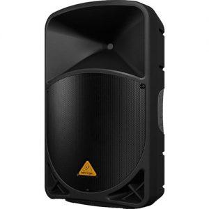 רמקול מוגבר 15 אינצ עם נגן Behringer B115 MP3