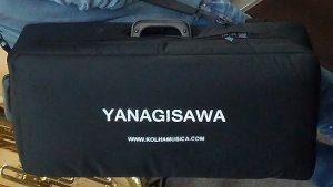 תיק מעטפת לארגז לסקסופון אלט עם רצועות גב  Yanagisawa