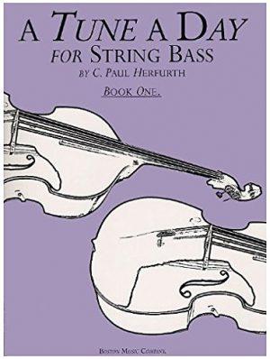 ספר לימוד קונטרה בס – A Tune A Day חלק 1