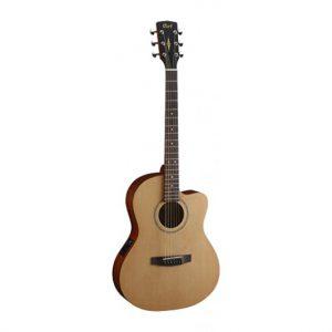 גיטרה אקוסטית מוגברת Cort Jade1E OP