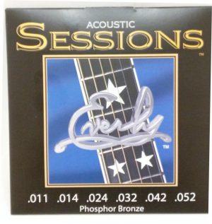 סט מיתרים לגיטרה אקוסטית Everly Sessions 7211 Phosphor Bronze 11-52