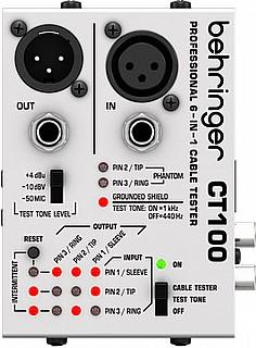 בודק כבלים Behringer CT-100