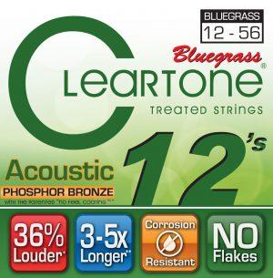 סט מיתרים לגיטרה אקוסטית Cleartone 7423 EMP Phosphor Bronze 12-56
