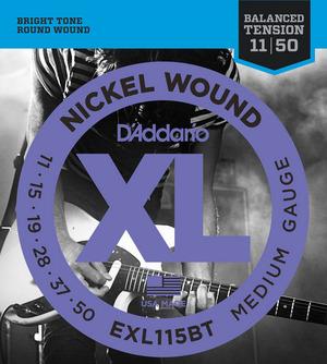 מיתרים לגיטרה חשמלית DAddario EXL115 011-049
