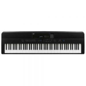 פסנתר חשמלי Kawai ES520 בצבע שחור