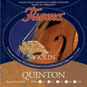 סט מיתרים לכינור פיזומה קוינטון 1/2 FIzoma